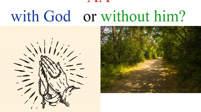 AA with God or withaut him