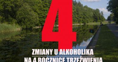 U alkoholika - 4 rocznica trzezwienia