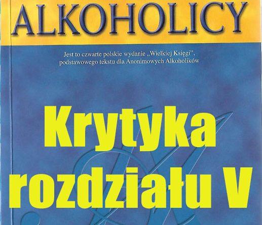 Krytyka rozdziału V WK